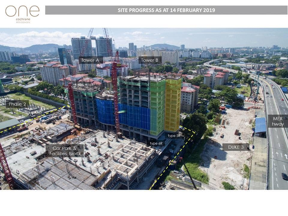 SITE PROGRESS AS AT 14 FEB 2019
