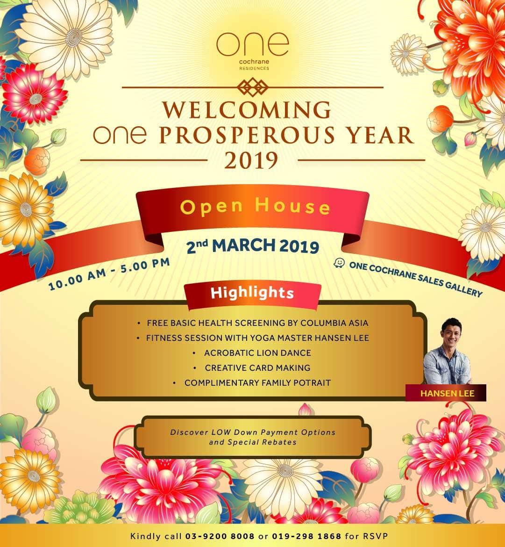One Cochrane Open House
