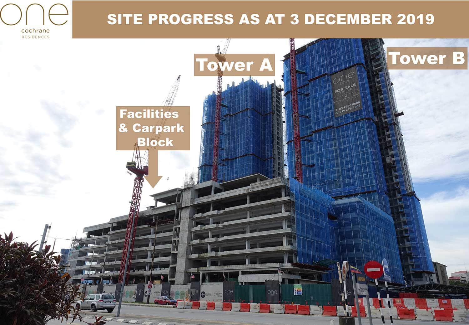 Site Progress As At 03 Dec 2019