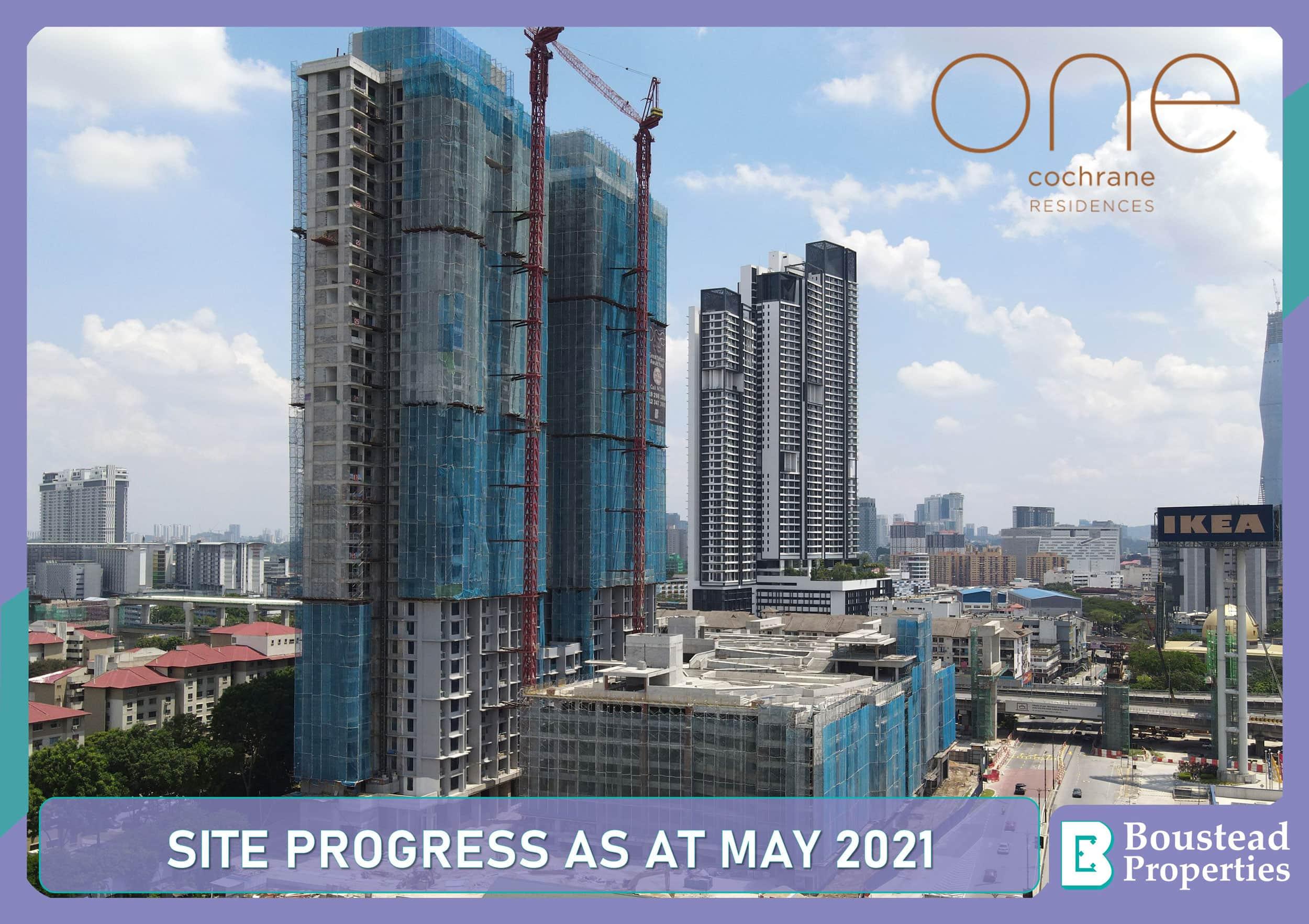 Site Progress As At May 2021